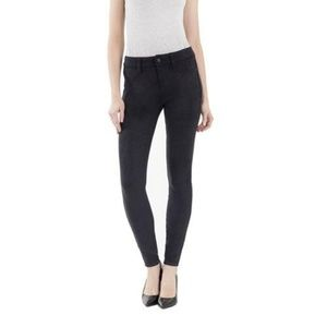 Level 99 Janice Midrise Ultra Skinny Faux Suede 30
